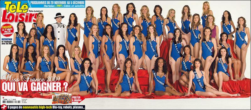 Question facile : combien de Miss sont en compétition?