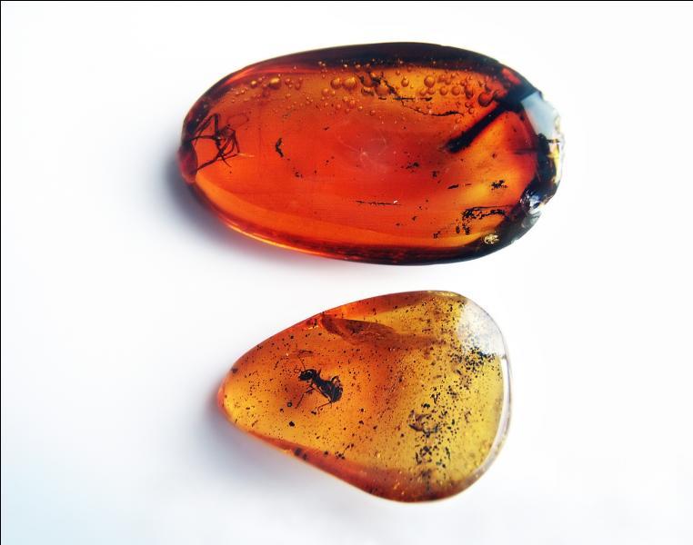 Et la couleur ambre, qui tire son nom d'une sorte de résine fossilisée ?