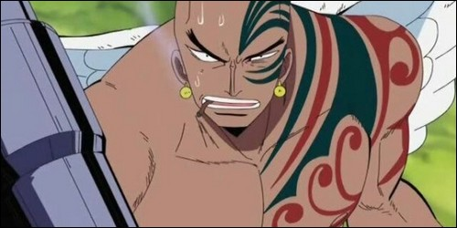 """Restons dans l'univers de """"One Piece"""". Comment se nomme ce guerrier Shandia ?"""