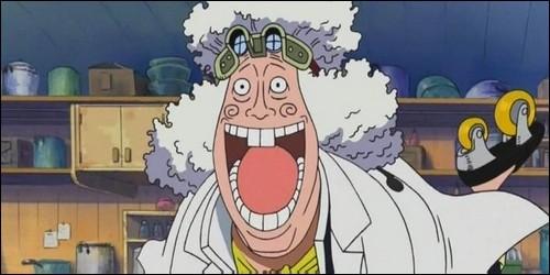 """Quel est le nom de ce cuisinier, membre du CP7, dans """"One Piece"""" ?"""