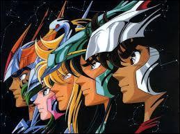 Les héros des «Chevaliers du Zodiaque» sont des chevaliers :