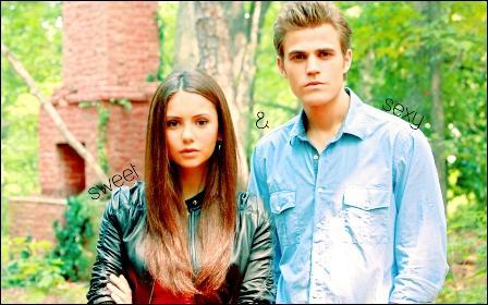 Où Stefan et Elena se sont-ils parlé pour la première fois ?