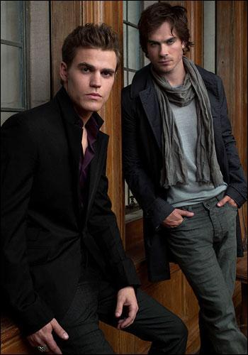 Une fois, Damon a proposé à Stefan de boire du sang humain, il a dit :