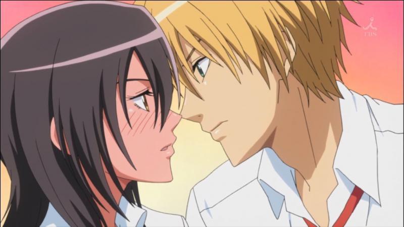 Pourquoi Mitsuki est-elle toute rouge sur cette photo ?