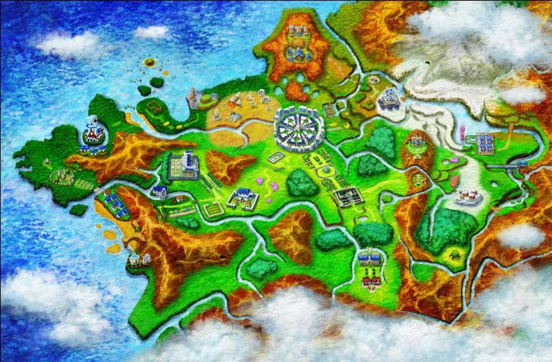 Comment s'appelle la région dans laquelle se déroulent Pokémon X et Y ?