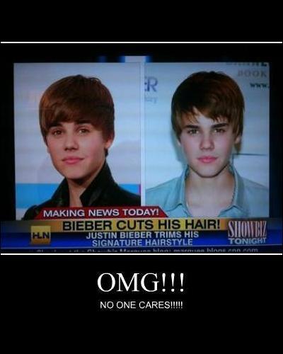 Je suis un fan de Justin Bieber et je voudrais être son sosie... Comment y arriver ?
