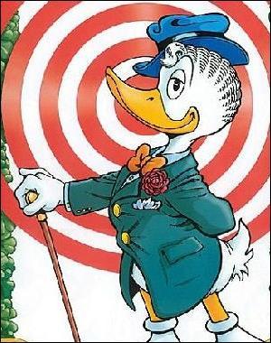 Finissons avec des questions sur les bandes dessinées. Quelle potion a dû avaler Gontran Bonheur lorsqu'il était petit ?
