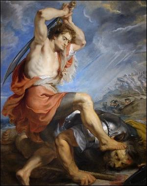 Bien. Continuons avec deux questions de mythologie. Si David avait été ami avec Severus Rogue, comment aurait-il battu Goliath ?