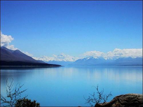Le mont _____ , Alpes néo-zélandaises :