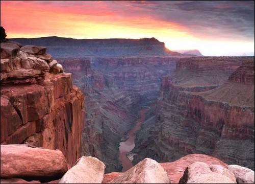 Mais quel beau paysage ! C'est le __________aux _____ dans le __________ !