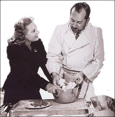 Le cuisinier et restaurateur Raymond Oliver, est devenu célèbre en créant, en 1953, la première émission télévisée consacrée à la cuisine, intitulée  Art et magie de la cuisine . Avec quelle speakerine de l'époque l'a t-il animée pendant 14 ans ?