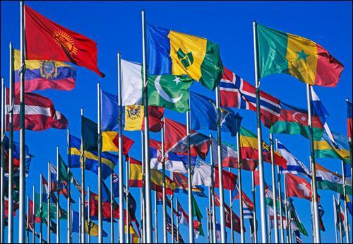 Les drapeaux du Bénin, de la Bolivie et de la Lituanie possèdent-ils les mêmes couleurs ?
