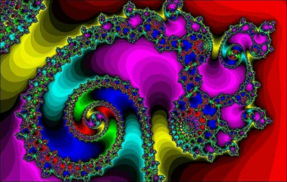 Cette image, est obtenue par itérations successives d'une fonction mathématique complexe. Comment se nomme-t-elle ?