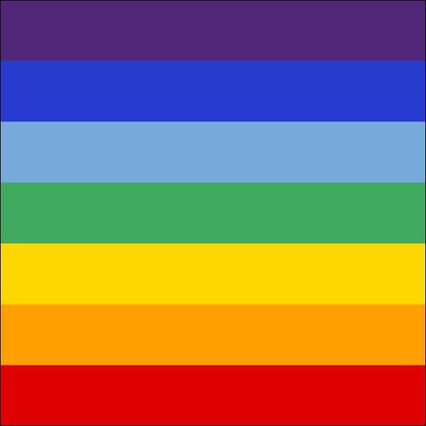 Et celui-là, avec les mêmes couleurs, mais inversées est le symbole... ?