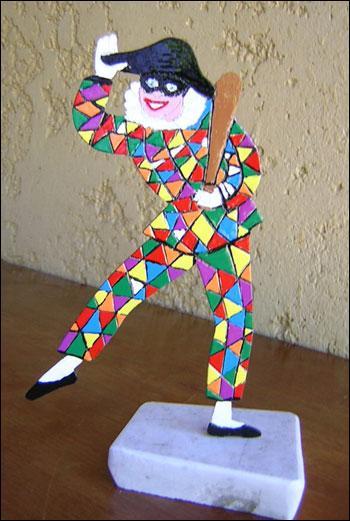 Ce personnage de ''La Commedia dell'arte'' est connu sous le nom... ?