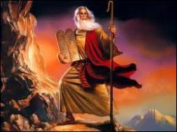 La vengeance divine finit par persuader Pharaon de libérer le peuple juif. Quel prophète a conduit les hébreux hors d'Egypte ?