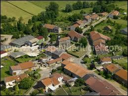 Voici, vue du ciel, la commune Meusienne de Spincourt. Elle se situe en région ...