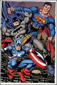 Bruce Wayne est l'homme qui se cache sous le costume d'un personnage de fiction. Lequel ?