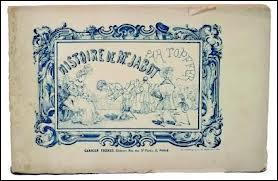Les premières bandes dessinées sont apparues en Suisse. La première à être éditée est l' Histoire de monsieur Jabot  de Rodolphe Töpffer. En quelle année fut-elle publiée ?