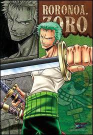 Où et à qui Roronoa Zoro promet-il de ne plus jamais perdre un seul combat ?