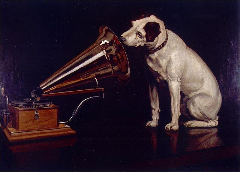 Comment Francis Barraud (1854-1924) a-t-il appelé cette toile ?