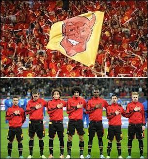 Sur les 9 premières rencontres des qualifications, combien de défaites les Diables rouges ont-ils dû concéder ?