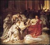 Le 14 février de l'an -44, César devenu maître absolu de Rome se fait nommer :