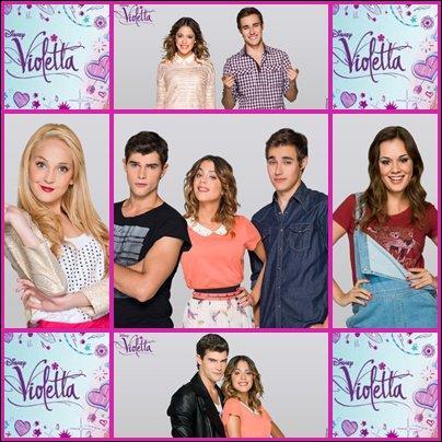 Où sont Francesca, Diego, León et Violetta dans l'épisode 74 ?