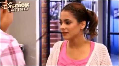 Dans ce même épisode, Violetta devait chanter  Te creo  mais elle n'a pas pu. Que s'est-il passé ?