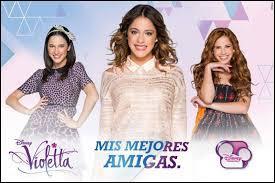 Qui sont les meilleures amies (ou la meilleure amie) de Violetta ?