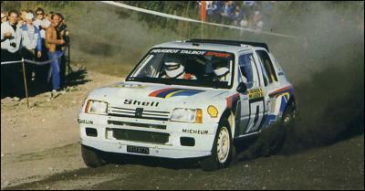 Champion du monde des rallyes en 1981. 10 victoires en championnat du monde dont 5 sur Peugeot 205 Turbo 16 (photo). Quelle est la nationalité d'Ari Vatanen ?