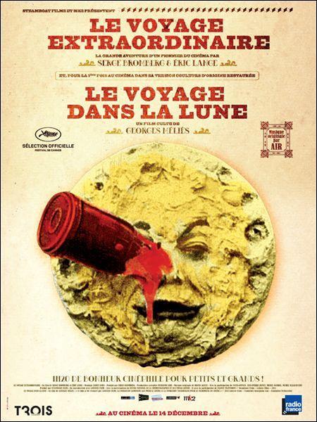 En quelle année fut réalisé le film  Le voyage dans la Lune  ?
