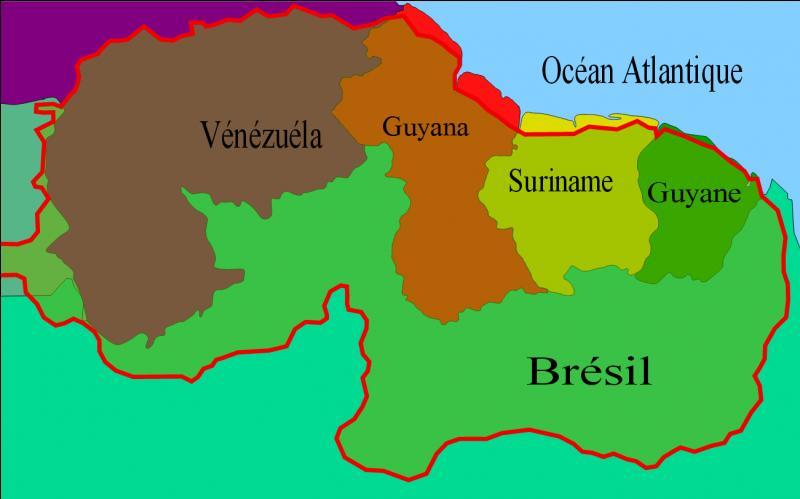 Quel est le nom de cette région d'Amérique que se partagent 6 états différents ?