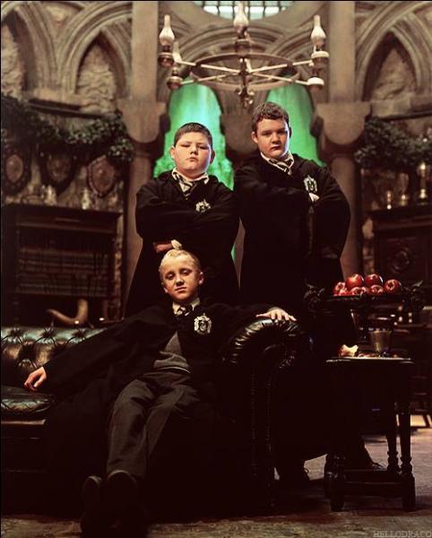 Draco Malfoy est à Serpentard car :