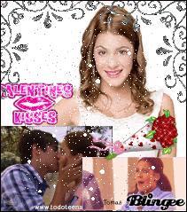 Lorsque Leon et Violetta se rapproche un peu, qui se met tout le temps entre eux ?