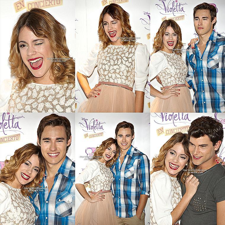 Violetta 2 en Espagne (Leon, Francesca, Violetta et Diego)