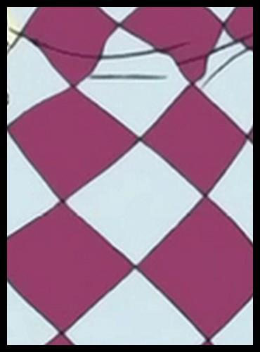 Épisode 65 - À quelle  Miss  appartient le motif de cette robe ?