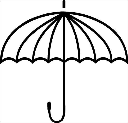 Le  parapluie  est souvent bien utile en automne.