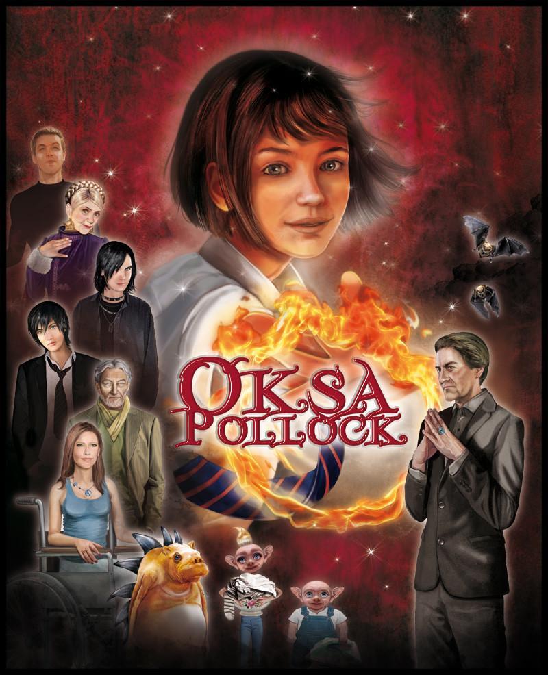 Oksa Pollock - Les personnages