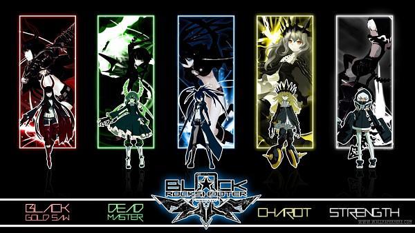 Les personnages de Black Rock Shooter