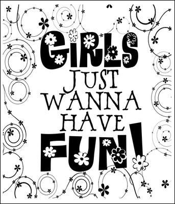 Quelle chanteuse américaine prétend que  Girls Just Want To Have Fun  ?