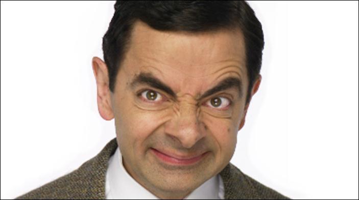 Vous le trouvez  très drôle , ce Mr Bean. In English, please !