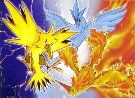 Avec quel Pokémon Sulfura, Artikodin et Electhor ont-ils un lien ?