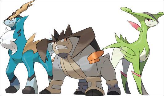 Dans quel film Pokémon, le trio Cobaltium, Terrakium, Viridium apparaît-il ?