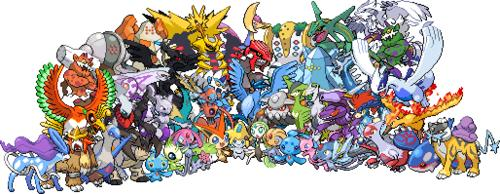Pokémon. Trio de légendaires