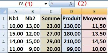 QCM Excel