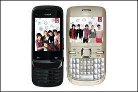 Le groupe a lancé également ses propres modèles de téléphones portables en édition limitée. De quelle marque sont-ils ?