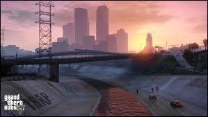 Quelle ville peut-on traverser dans GTA V ?
