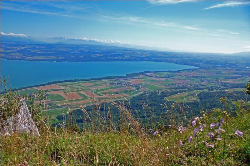De quel mont du Jura peut-on embrasser ce panorama ?