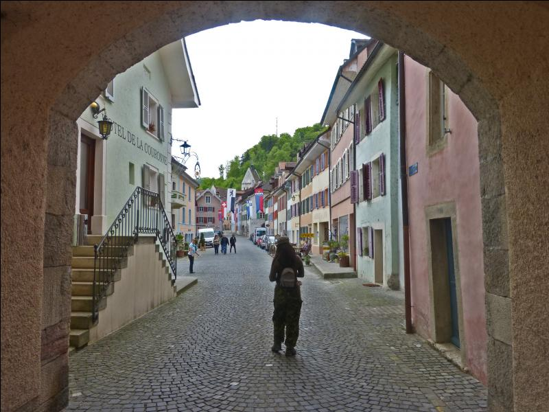 De quel bourg médiéval s'agit-il ?